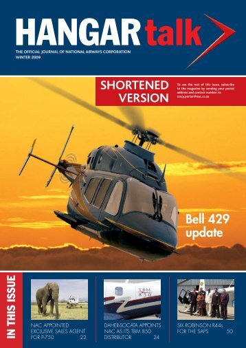 SHOrtened VerSiOn - National Airways Corporation