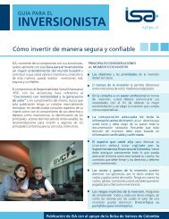 cartilla inversionistas por pag - Bolsa de Valores de Colombia