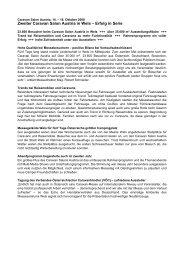 Zweiter Caravan Salon Austria in Wels – Erfolg in Serie - Messe Wels