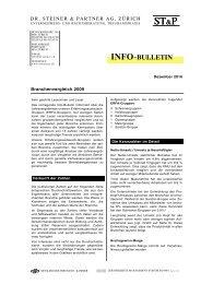 INFO - bei Dr. Steiner & Partner AG