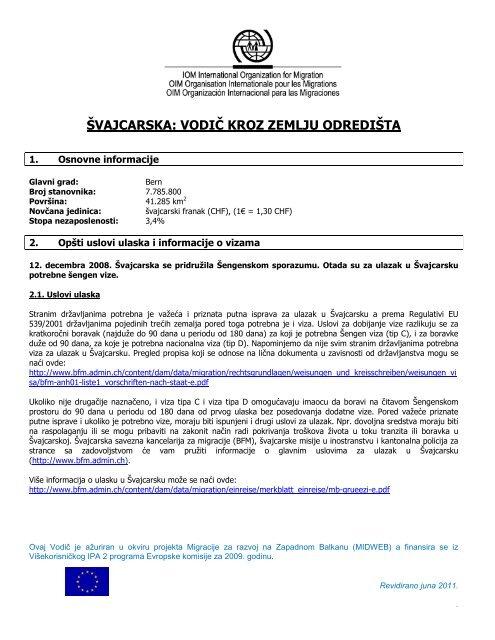Svajcarska Vodic Kroz Zemlju Odredista Migrantservicecentres Org