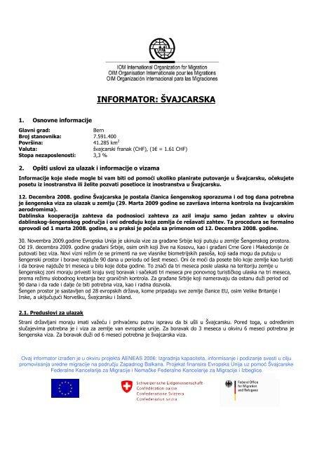 Zemlja Odredista Svajcarska Migrantservicecentres Org