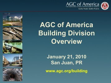 Building Division Overview Presentation - The Associated General ...