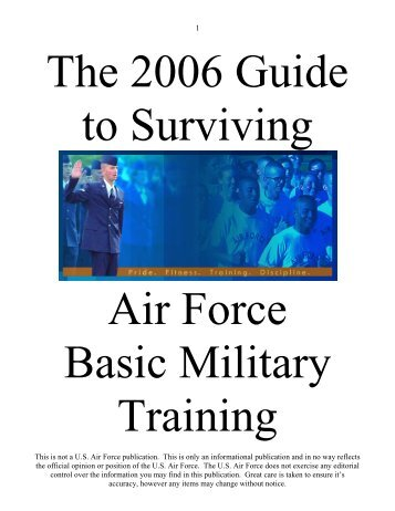 to download the guide in .pdf - bmt family and friends - F-16.org