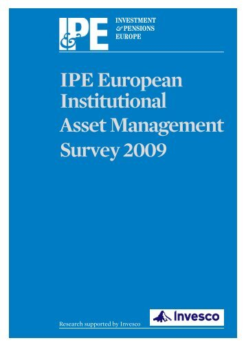IPE European Institutional Asset Management ... - European Issuers