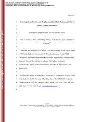 Trimethoprim-sulfamethoxazole Prophylaxis and Antibiotic Non ...
