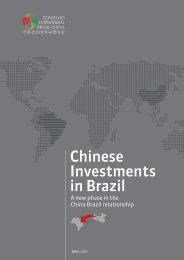 Chinese Investments in Brazil - Woodrow Wilson International ...