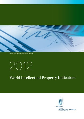 World Intellectual Property Indicators - La Presse
