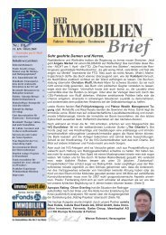 090508 DIB 191 - Sachwertefonds beinhalten Inflationsschutz