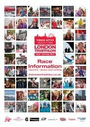 Important - please read carefully - London Triathlon