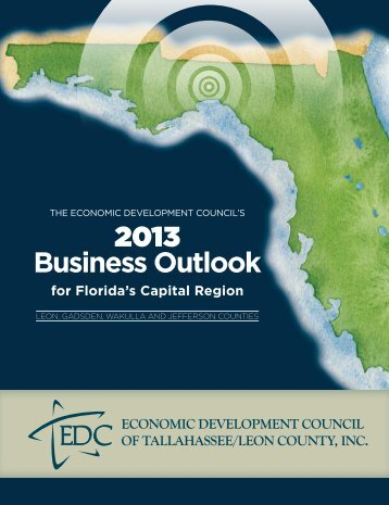 2013 Tallahassee Business Outlook - Economic Development Council