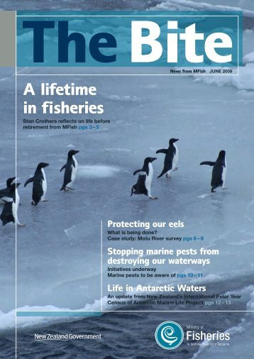 Download The Bite - June 2009 - Ministry of Fisheries