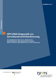 HPV-DNA-Diagnostik zur Zervixkarzinomfrüherkennung - DIMDI
