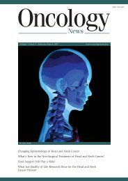 Volume 1 Issue 5 : February/March 2007 - Oncology News