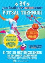 Programmaboekje Bralten Toernooi - FC Meppel