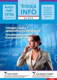 Nro. 5/2012 - Suomen Yrittäjät