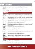 Joensuun Seudun Diabetes ry - Kotisivukone - Page 7