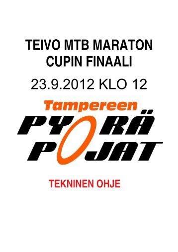 TEIVO MTB MARATON tekninen opas v1.5.pdf - Tampereen Pyörä ...