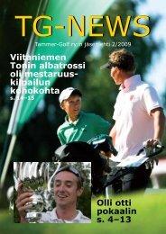 Viitaniemen Tonin albatrossi oli mestaruus- kilpailun ... - Tammer-Golf