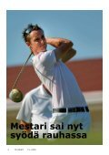 Viitaniemen Tonin albatrossi oli mestaruus- kilpailun ... - Tammer-Golf - Page 4