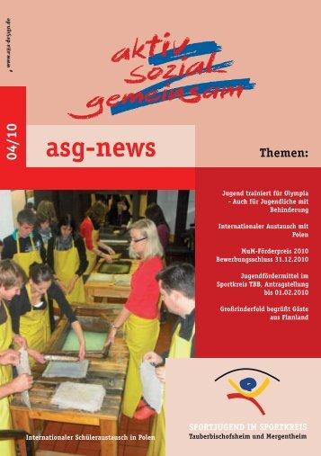 asg-news - sportjugend tauberbischofsheim