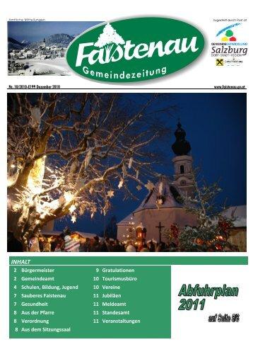 Datei herunterladen (3,92 MB) - .PDF - Gemeinde Faistenau