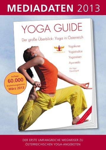 mediadaten 2013 - Yoga Guide