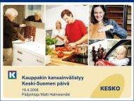 Matti Halmesmäki - Keski-Suomen liitto