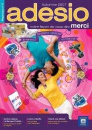 Cartes Cadeau La Banque Postale : Grand Jeu Adésio ... - Free