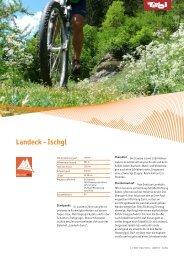 BTT - factsheet 29 Landeck - Ischgl - Bike Tirol