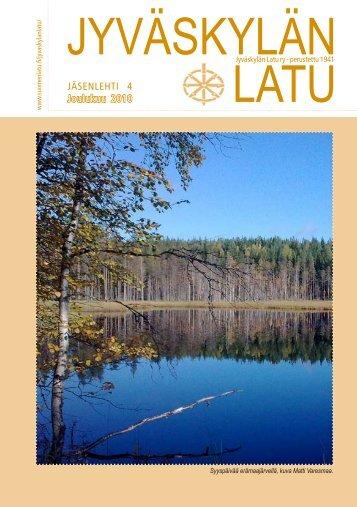 Numero 4 / 2010 - Jyväskylän Latu ry