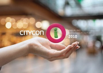 Annual and Sustainability Report 2010 - Citycon