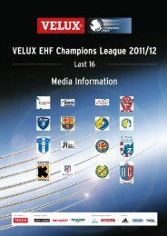 FC Barcelona Intersport (ESP) - European Handball Federation