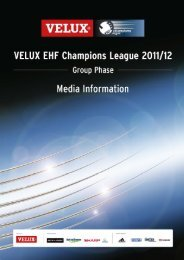 group a - European Handball Federation