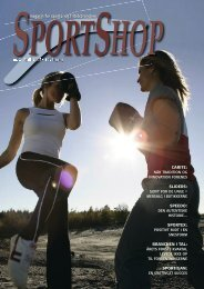 magasin for sports- og fritidsbranchen - Danmarks Sportshandler ...