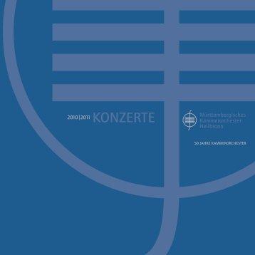 Untitled - Württembergisches Kammerorchester Heilbronn