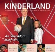 Vorbilder sind wichtig - Kinderdorf Berlin