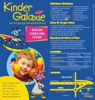 Prospekt 2012 - Kinder Galaxie, der Hallenspielplatz in Freiburg St ...
