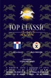 Top Classic 2012 - Old Friends e Mondesir - Tattersall - Raia Leve