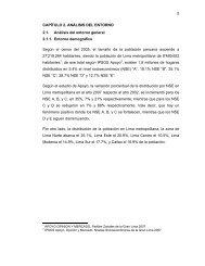 5 CAPÍTULO 2. ANÁLISIS DEL ENTORNO 2.1. Análisis ... - Cybertesis
