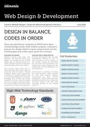 Custom Website Design, Corporate Web Development ... - Interaria