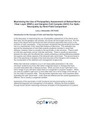 Maximizing the Use of Peripapillary Assessment of ... - Optovue