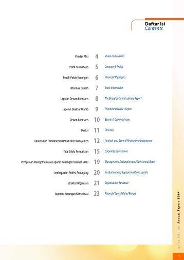 INTD Annual Repoort 2009.pdf - Jakarta Stock Exchange