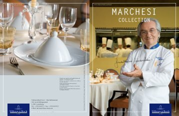 MARCHESI COLLECTION - Arafura Catering Equipment