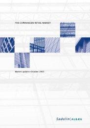 THE COPENHAGEN RETAIL MARKET - Sadolin & Albæk