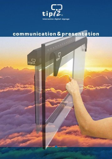 communication&presentation - Eichmann Electronic AG