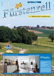 Fürstenzell life Juni 2009 - Fuerstenzell.de