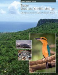 Guam National Wildlife Refuge Comprehensive Conservation Plan
