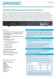 data sheet_ILD1000.indd - David Norman GmbH