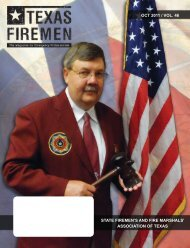 STATE FIREMEN'S AND FIRE MARSHALS' ASSOCIATION OF ...